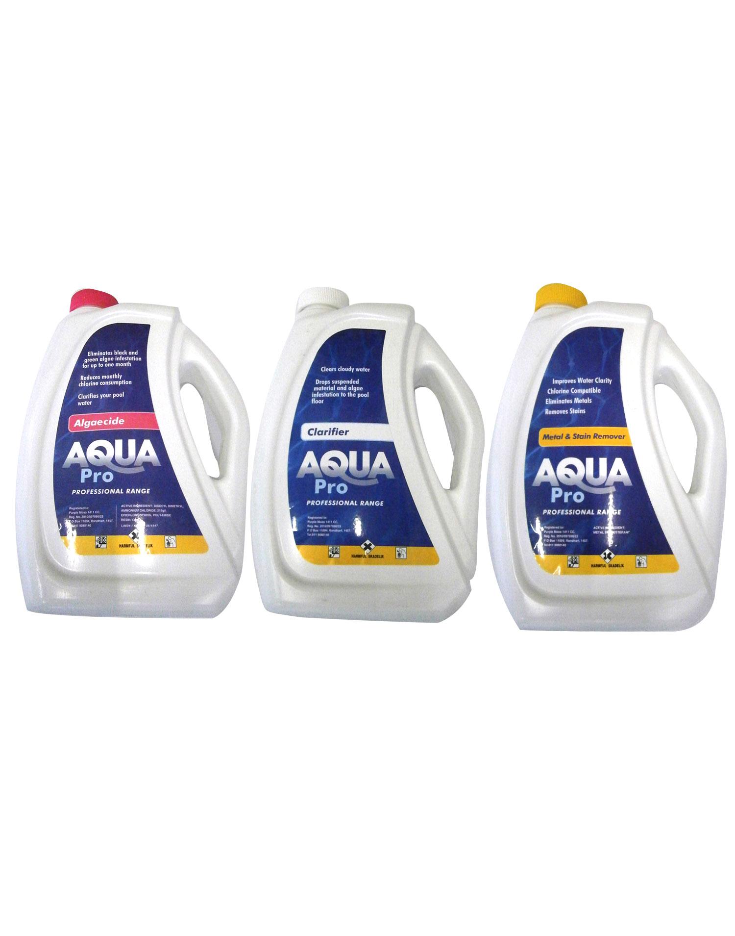 Aqua Pro Combo Pack National Pool Supplies